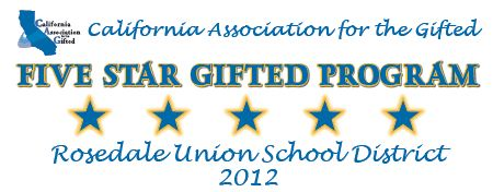 Five Star Gifted Program